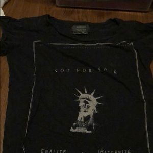 Never worn graphic t shirt by All Saints